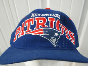 VINTAGE STARTER NFL PRO-LINE NEW ENGLAND PATRIOTS SNAPBACK HAT CAP PREOWNED 90s