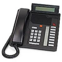 1 Refurbished Black Nortel M2008D Phone, Nortthern Telecom Meridian Options