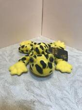 """24K BEANIE BOPPERS """"TREE FROG YELLOW"""" 1997 STUFFED PLUSH ANIMAL SPECIAL EFFECTS"""