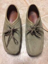 Clarks Originals Wallabee Shoes (Sand Color), Women Size: 7M SUEDE LEATHER   H