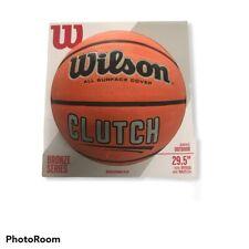 Wilson Clutch Basketball 29.5� Bronze Series All Surface