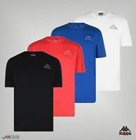 Mens Kappa Crew Neck Regular Short Sleeved Tape T Shirt Sizes from S to XL