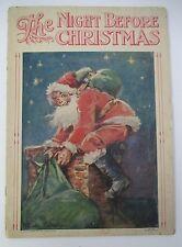 THE NIGHT BEFORE CHRISTMAS, Frances Brundage, Circa 1930