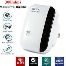 Wifi Range Extender Booster 300Mbps Wireless Router Signal Repeater Amplifier