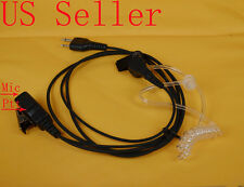Acoustic Headset/Earpiece For Icom Radio Ic-F3011 Ic-F4011 Ic-F3021 Ic-F4021 Usa
