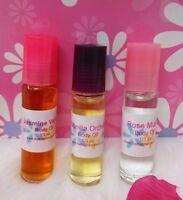 Mango Pear Perfume Body Oil Fragrance .33 oz Roll On One Bottle Womens 10ml