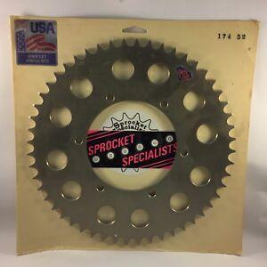 Husaberg 350/499/501/600 1990-1999 Rear Sprocket 48 Tooth Hardened Aluminum 174