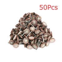 "4/5"" Sandpaper Mounted Point Flap Abrasive Wheel Flat 1/8"" Shank 80~600# 50Pcs"