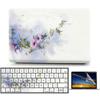 """Morning Glory Flower Matte Hard Case Shell Cover for Macbook Air Pro 11"""" 13"""" 15"""""""