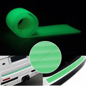 Door Sill Guard Car SUV Body Bumper Protector Trim Cover Protective Strip Green
