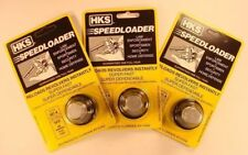 3 Pack HKS 587-A Speed Loader 7 Shot 38/357 Mag Fits S&W 3Pk