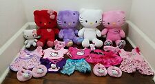 Build A Bear Workshop BABW Hello Kitty Plush Lot Of 4 Plus Smallfry and Clothes