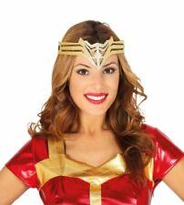 Wonder Woman Tiara Crown Cosplay Headband Superhero Fancy Dress Halloween Womens