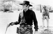 Once Upon A Time In The West Charles Bronson Pulls Gun Henry Fonda 8x10 Picture
