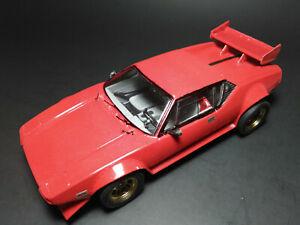 1971 71 Ford DeTomaso Pantera GTS 1/24 built up model car Testors #382