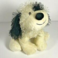 Ganz Webkinz Black and White Cheeky Dog Plush HM192 Fuzzy Retired