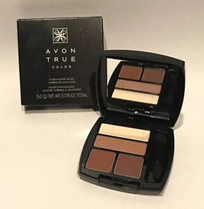 Avon True Color Eyeshadow Quad Warm Sunrise