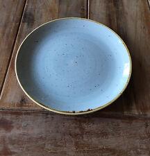 Churchill STONECAST Coupe Plate Duck Egg Blue Platte Teller Porzellan 21,7 cm