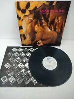 Dead Or Alive - Sophisticated Boom Boom - UK Vinyl LP Excellent Vinyl