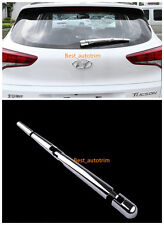 For Hyundai Tucson 2016 ABS Chrome Tail Rear Wiper Back Wipers Cover Decoration