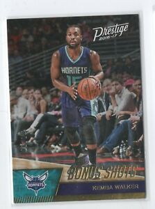 16-17 Prestige Bonus Shots GOLD #01/10 Kemba Walker