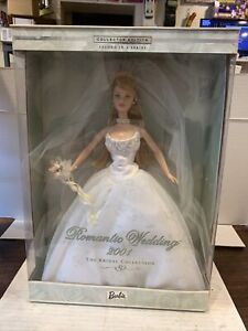 Romantic Wedding 2001 Barbie Bridal Collection NEw In Sealed Box