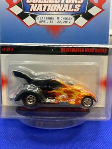 Hot Wheels  12th Nationals Convention Volkswagen Drag Beetle Black   658/1100