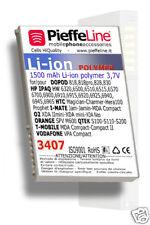 Batteria per Hp Ipaq 6500 6510 6515 QTEK S100 S200 1500mA