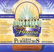 BANDA HERENCIA DE JALISCO - PURAS PA'BORRACHOS -  MUSIC CD - NEW SEALED - F118