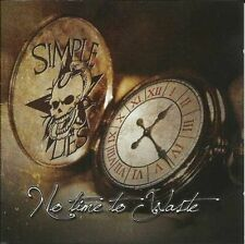 SIMPLE LIES - NO TIME TO WASTE  CD NEW