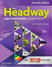 NEW HEADWAY Upper-Intermediate 4th Ed STUDENT'S BOOK w iTutor DVD-ROM @New@