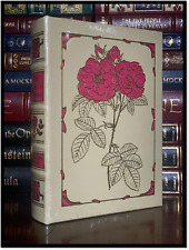 Pierre Joseph Redoute Book Of Flowers Sealed Easton Press Leather Bound Hardback