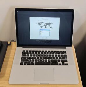 Apple MacBook Pro Retina 15 i7 16GB RAM 256GB Flash 525 Power Cycle