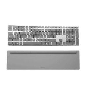 Microsoft Wireless Bilingual QWERTY Keyboard | Canada Edition | 3YJ-00002 | Gray