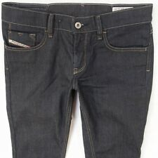 Donna Livy 008AA Stretch Diesel Skinny Blue Jeans W28 L30 UK Taglia 8