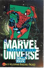 Marvel Universe Series 3 - 1992 Impel Skybox Factory