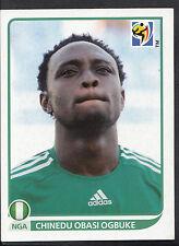 Panini Football Sticker - 2010 World Cup - No 140 - Nigeria - Chinedu Obasi