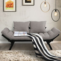 Valentine Sale Sofa Bed Couch Chaise Lounger 3-in-1 3-Position