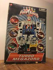 BANDAI Power Rangers Turbo -Deluxe Turbo Megazord Five Vehicle Zords Morph Read!