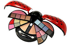 Cameo Ladybug Cute Make Up Kit with Eyeshadow, Blush, Presspowder & Lipgloss, Re