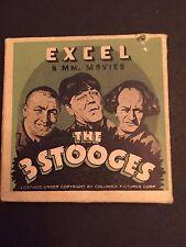 1930's 3-Stooges (8MM) Film