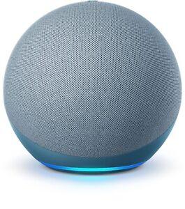 Amazon Echo Dot (4th Gen.) Smart Speaker - Twilight Blue - Factory Sealed!