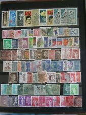 Timbre Lot de 80 timbres  Page 2 Sellos stamps Briefmarken