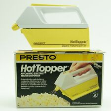 Presto Hot Topper Vintage Automatic Electric Butter Topping Melter Dispenser NEW