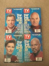 TV Guide August 24-30 1996 Star Trek Turns 30! SET OF 4 COVERS!