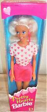Vintage Mattel 1995 Pretty Hearts Barbie Doll NIB Blonde #14473