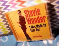 """Stevie Wonder New Best of FREEPOST CD Motown Hits """"Collection"""" Made To Love Her"""