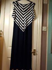 """Lagenlook magnifique Plain Ballon très longue robe ** NOIR ** BUSTE jusqu/'à 50/"""""""