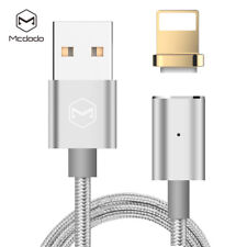 Mcdodo Braided Lightning Data Syn Cable F iPhone X 8 7 6s USB Fast Charging Cord Gold (magnetic Led) 3x 5ft/1.2m