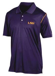 "LSU Tigers Champion NCAA ""Playclock"" Performance Polo Shirt"